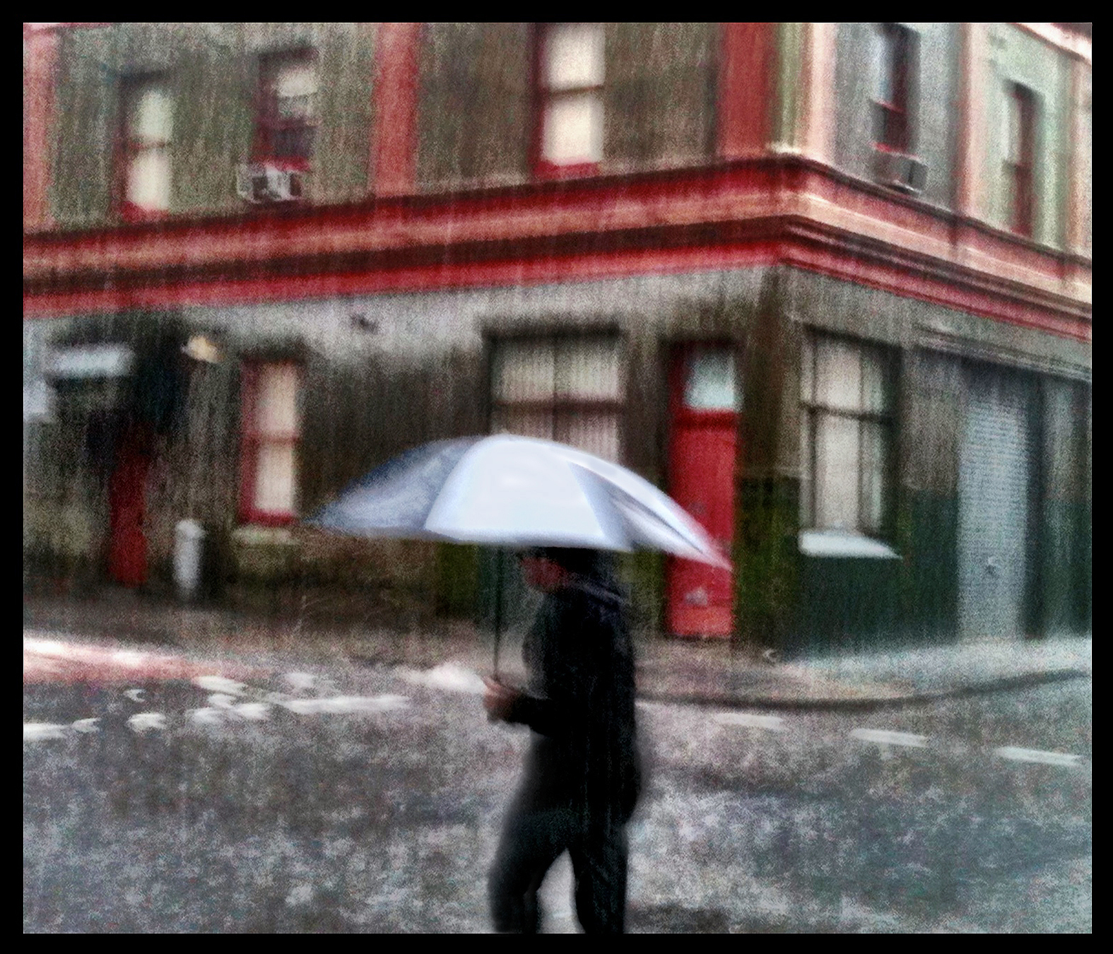 Camera+ Newtown rain 1