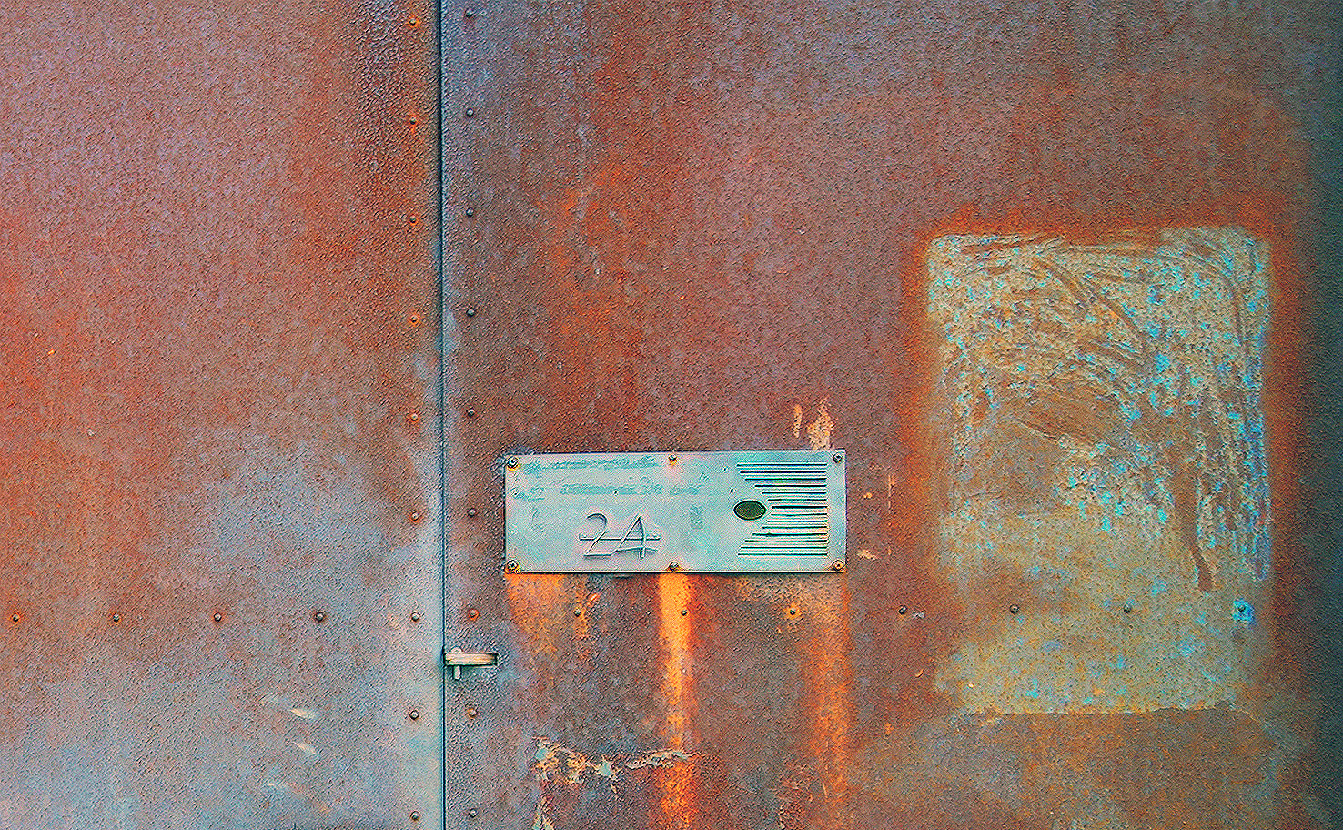 Art & about 4 Door rusty